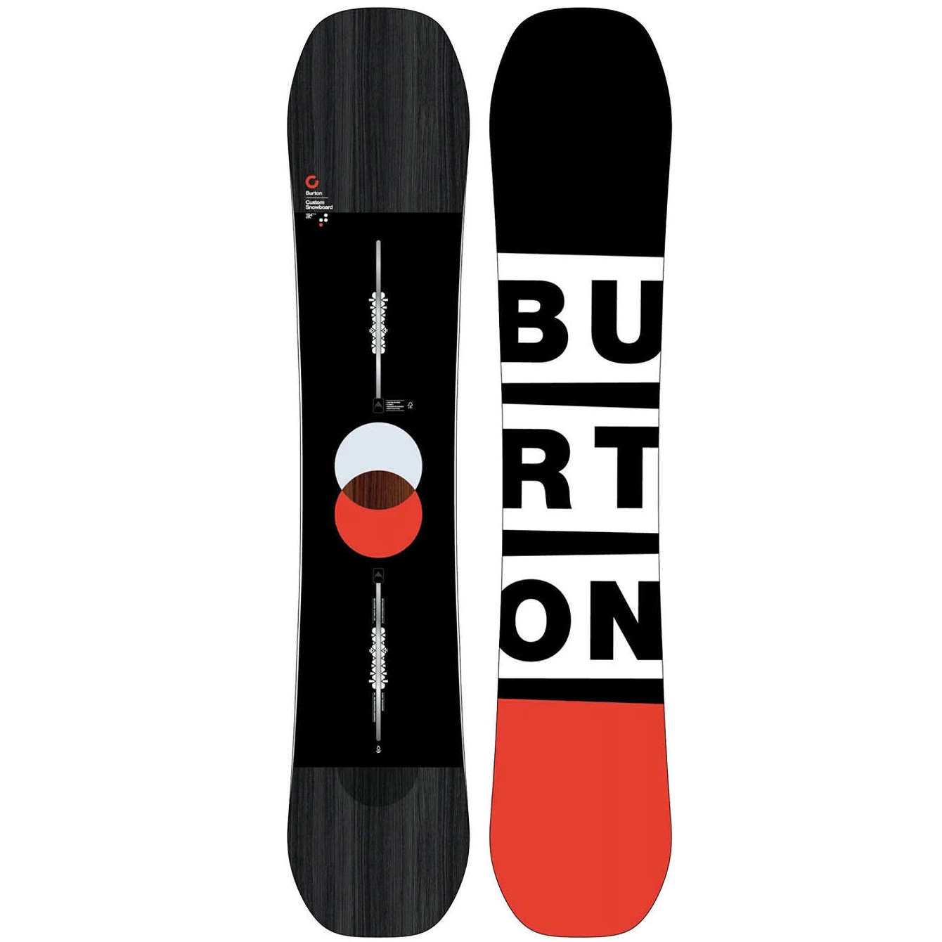 Plăci Snowboard -  burton Custom Flying V
