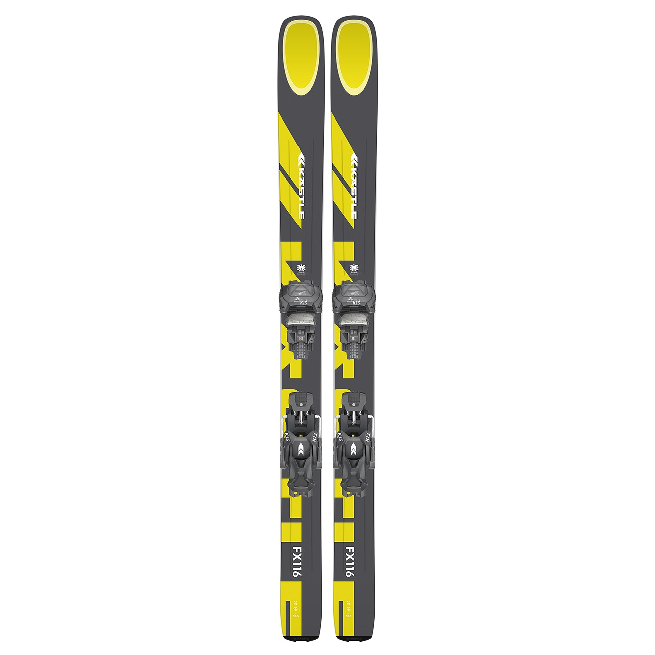 Ski -  kastle FX116 + K13 Attack Demo AT