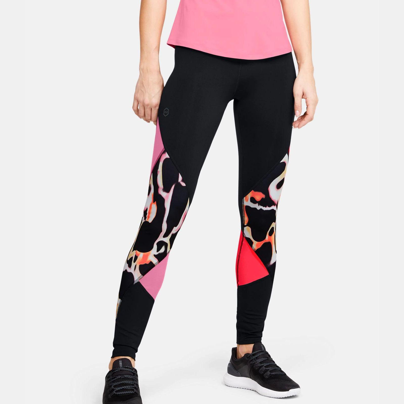 Îmbrăcăminte -  under armour UA Rush Print Color Block Leggings 1730
