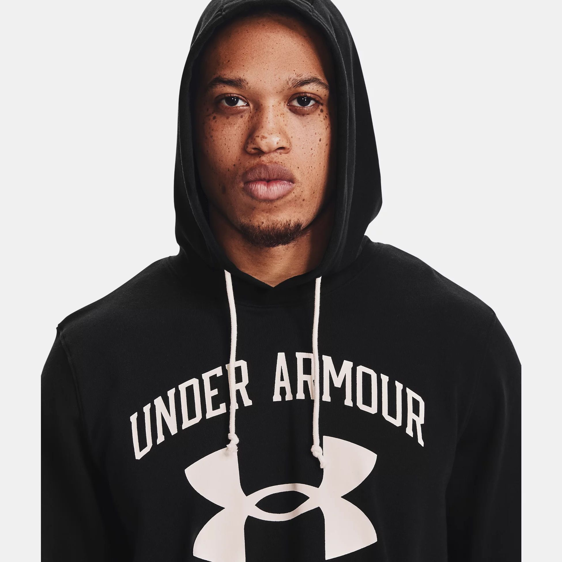 Îmbrăcăminte -  under armour Rival Terry Big Logo Hoodie 1559
