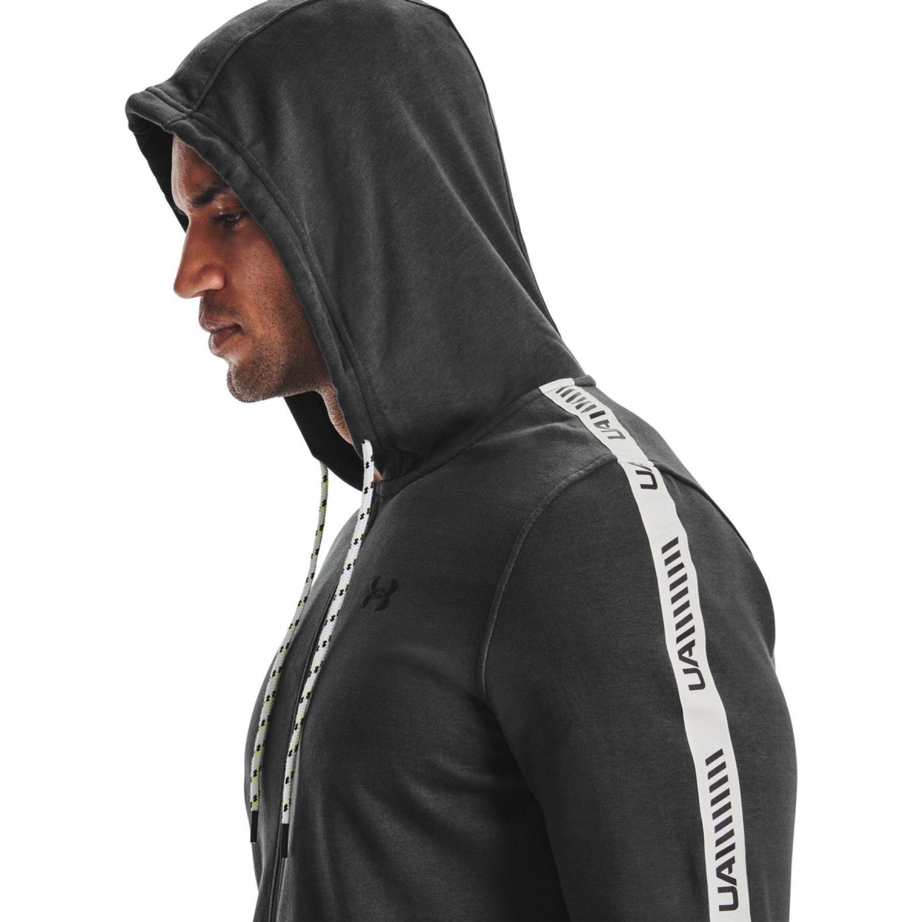 Îmbrăcăminte -  under armour Rival Terry full zip