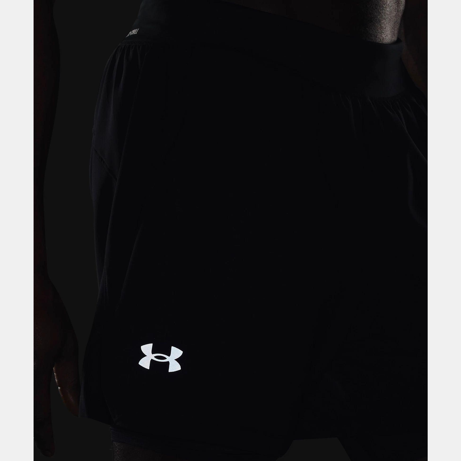 Îmbrăcăminte -  under armour UA Iso-Chill Run 2-in-1 Shorts