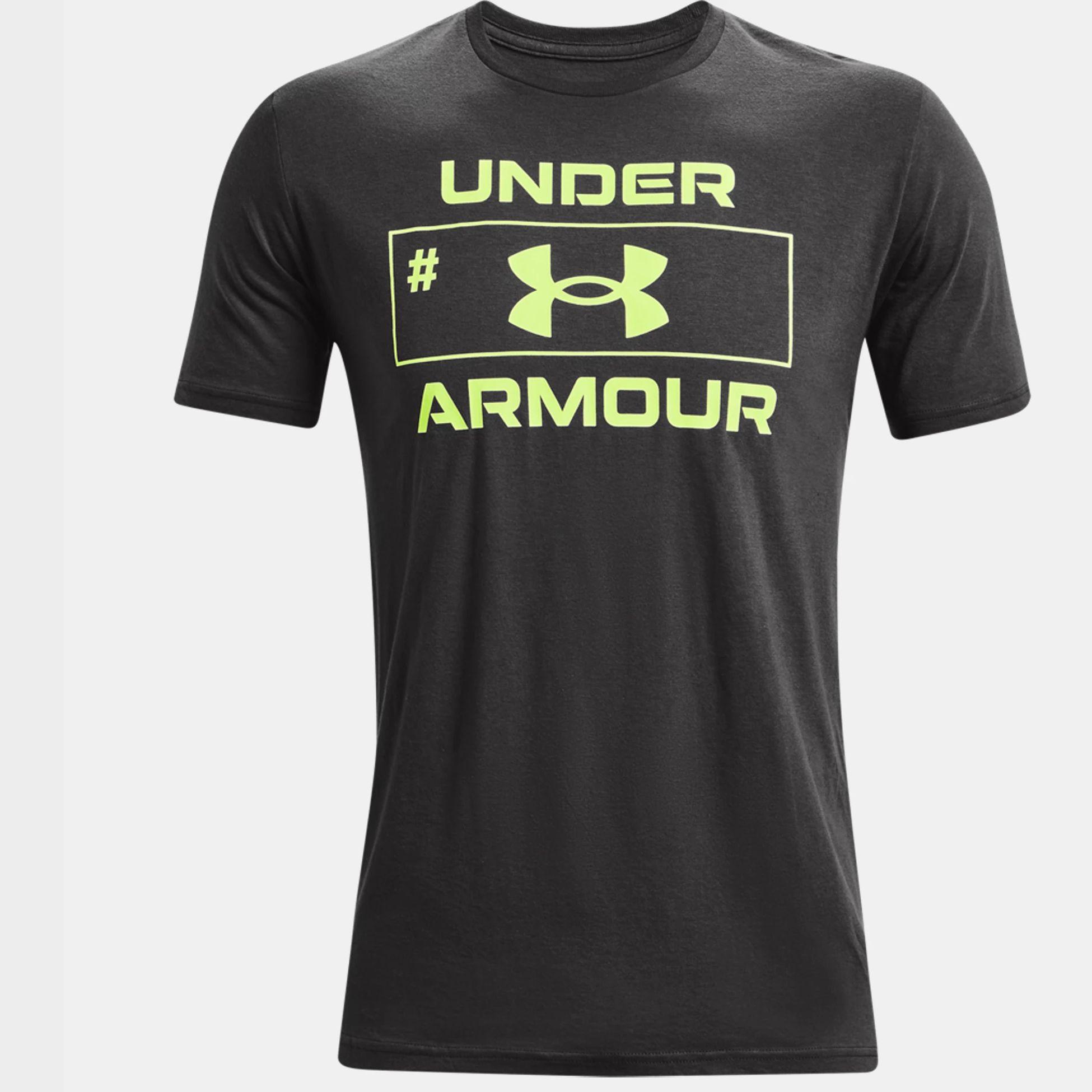Îmbrăcăminte -  under armour UA Number Script Short Sleeve