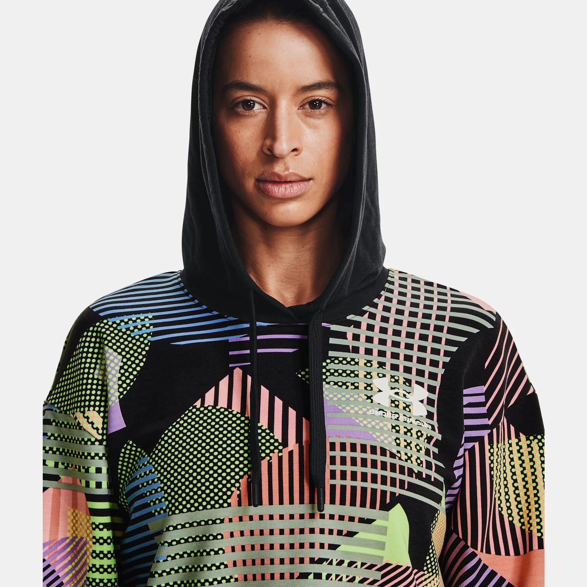 Îmbrăcăminte -  under armour UA Rival Terry Geo Print Hoodie
