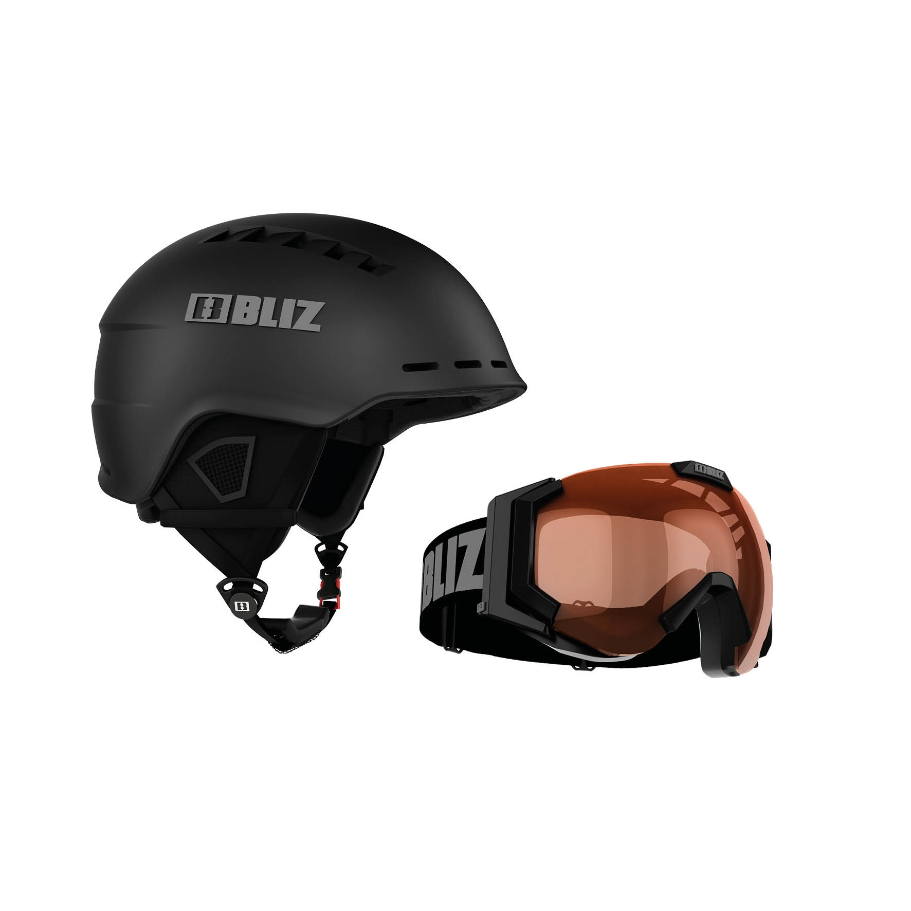 Cască Snowboard -  bliz Set Head Cover + Carver