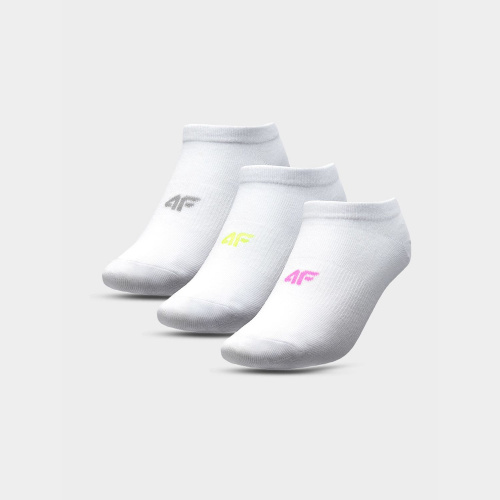 Accesorii - 4f Șosete pentru fete (3 perechi) JSOD002 | Fitness