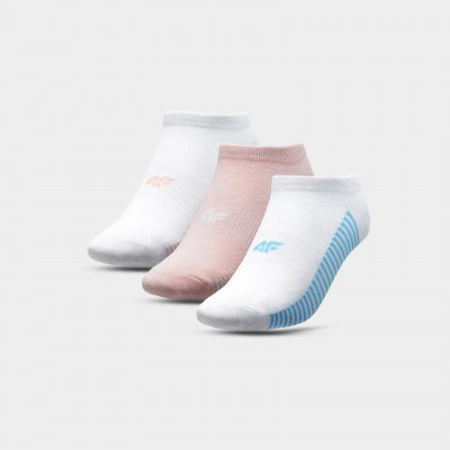 Accesorii - 4f Șosete pentru fete (3 perechi) JSOD004 | Fitness