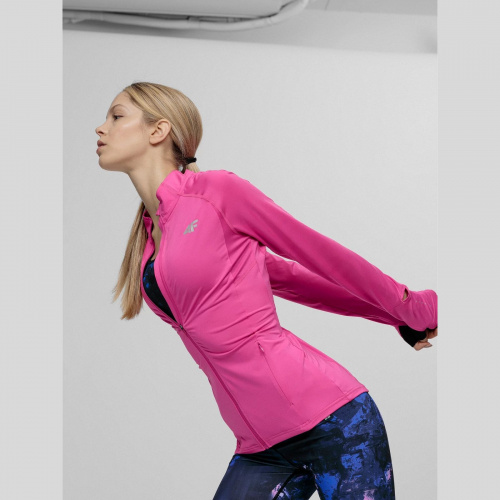Îmbrăcăminte - 4f Bluză de alergare pentru femei BLDF010 | Fitness