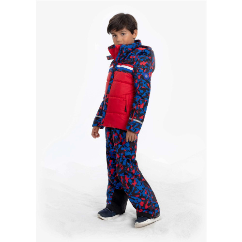 Geci Ski & Snow -  poivre blanc COLOR BLOCK SKI JACKET 274042