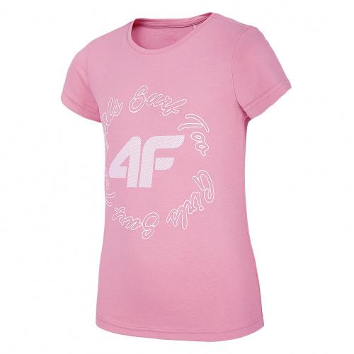 Îmbrăcăminte - 4f Girl T-Shirt JTSD009 | Fitness