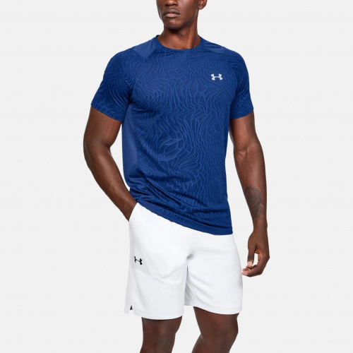 Imbracaminte - Under Armour MK-1 Jacquard Short Sleeve 1562 | Fitness