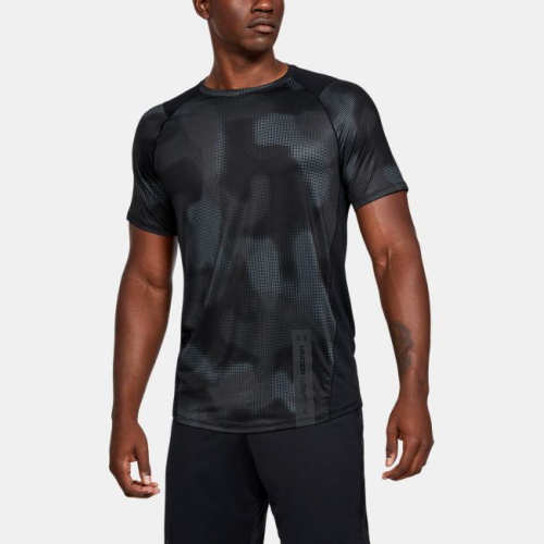 Îmbrăcăminte - Under Armour MK-1 Printed Short Sleeve 5245 | Fitness