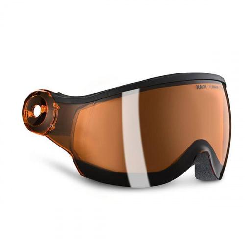 Cască Cu Vizor Snowboard - Kask Orange visor - S2 | Snowboard