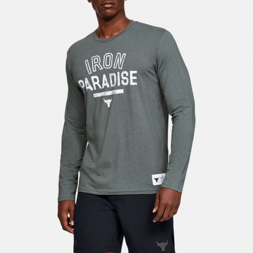 Imbracaminte - Under Armour Project Rock Iron Paradise Long Sleeve 6101 | Fitness