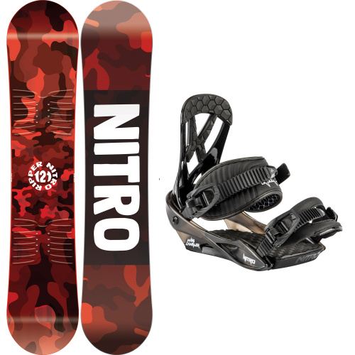 Kit Snowboard - Nitro RIPPER KIDS + CHARGER MINI | Snowboard
