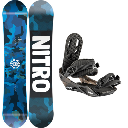 Kit Snowboard - Nitro RIPPER YOUTH + CHARGER | Snowboard