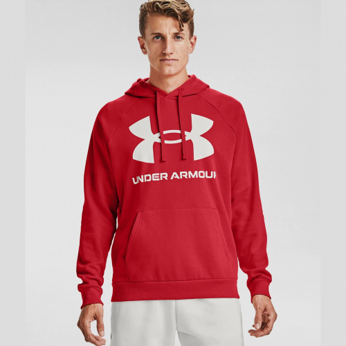Îmbrăcăminte - Under Armour Rival Fleece Big Logo Hoodie 7093 | Fitness