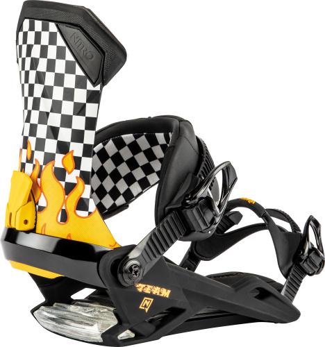 Legaturi Snowboard -  nitro TEAM