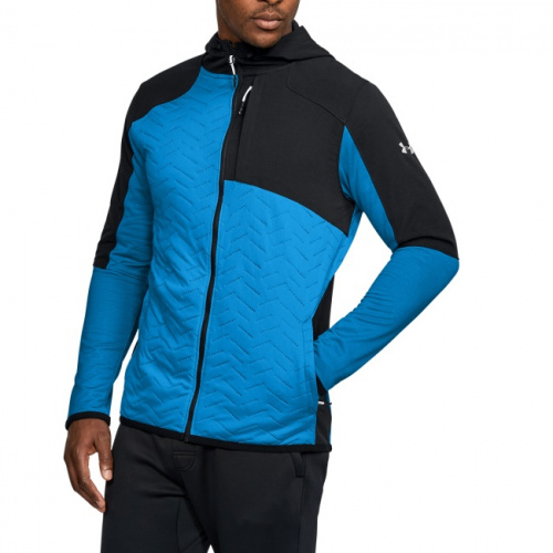 Imbracaminte - Under Armour UA ColdGear Reactor Fleece Insulated FZ Hoodie 9167 | Fitness