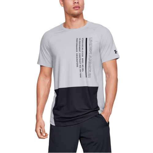 Imbracaminte - Under Armour UA MK-1 Colorblock Short Sleeve 5244 | Fitness