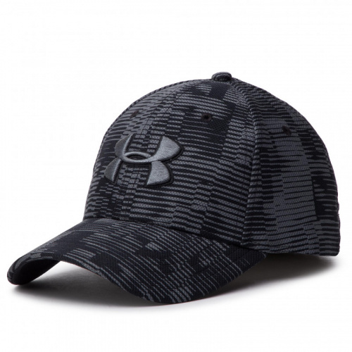 Accesorii - Under Armour UA Printed Blitzing 3.0 Stretch Fit Cap 5038 | Fitness