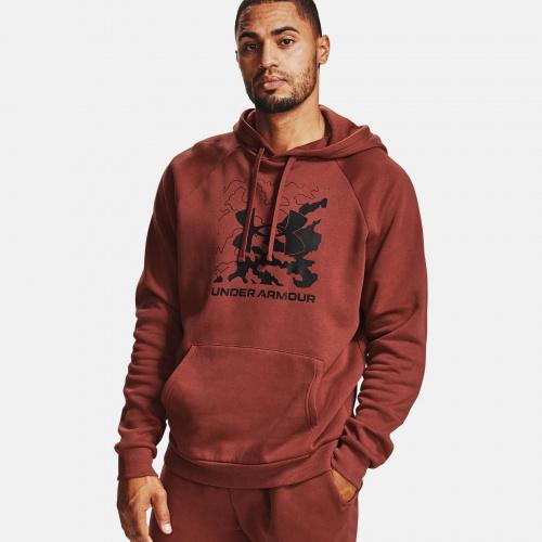 Îmbrăcăminte - Under Armour UA Rival Fleece Box Logo Hoodie 7095 | Fitness