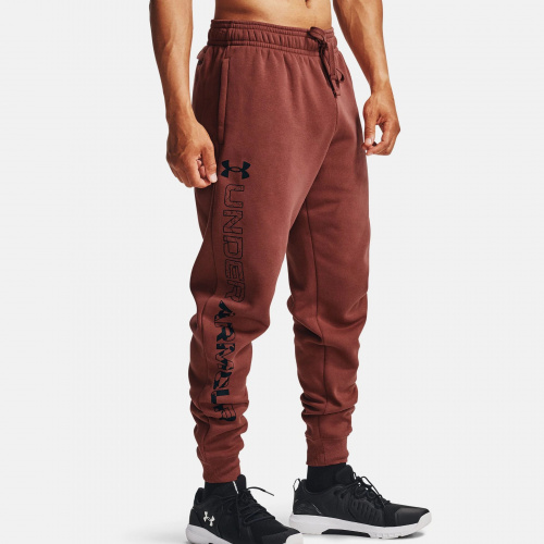 Îmbrăcăminte - Under Armour UA Rival Fleece Graphic Joggers 7130 | Fitness