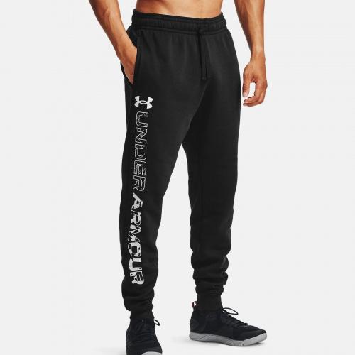 Îmbrăcăminte - Under Armour UA Rival Fleece Graphic Joggers 7130   Fitness