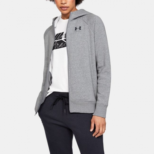 Imbracaminte - Under Armour UA Rival Fleece Sportstyle Full Zip Hoodie 8559 | Fitness