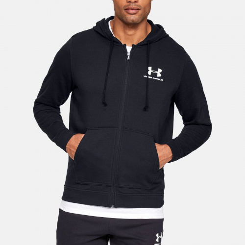 Îmbrăcăminte - Under Armour UA Sportstyle Terry Full Zip Hoodie 5776 | Fitness