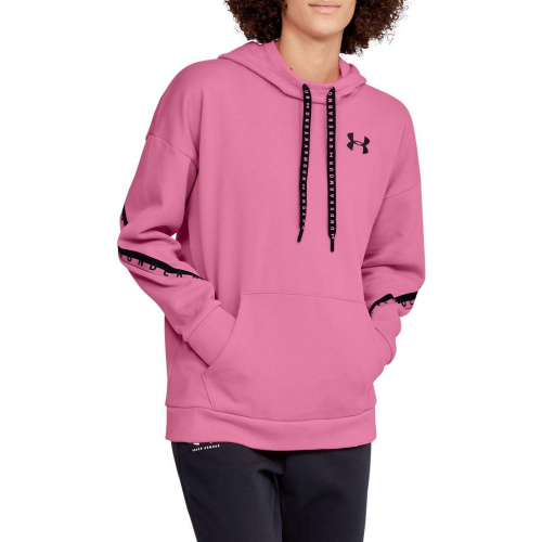 Imbracaminte - Under Armour UA Taped Fleece Hoodie 2744 | Fitness