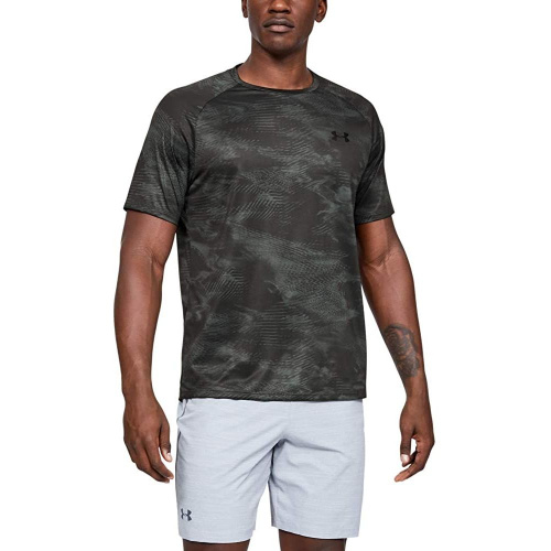 Imbracaminte - Under Armour UA Tech 2.0 Printed Short Sleeve 8189 | Fitness