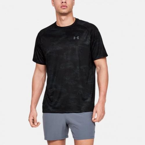 Imbracaminte - Under Armour UA Tech 2.0 Printed Short Sleeve 8189 | Fitness