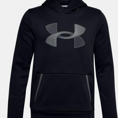 Îmbrăcăminte - Under Armour Armour Fleece Big Logo Hoodie   Fitness