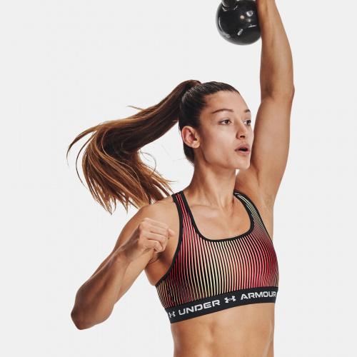 Îmbrăcăminte - Under Armour Armour Mid Crossback Printed Sports Bra   Fitness