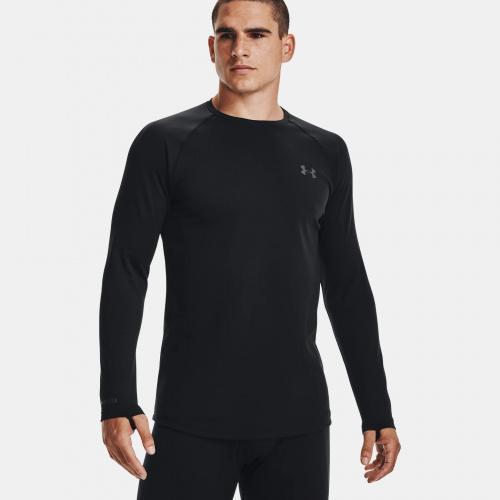Îmbrăcăminte - Under Armour ColdGear Base 3.0 Crew | Fitness