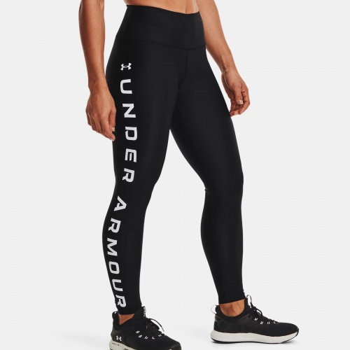 Îmbrăcăminte - Under Armour HG Armour No-Slip Waistband Branded Leggings 1046 | Fitness