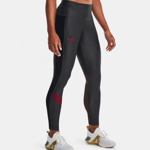 Îmbrăcăminte - Under Armour Project Rock HeatGear No-Slip Waistband Leggings | Fitness
