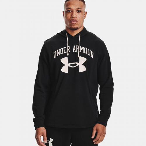 Îmbrăcăminte - Under Armour Rival Terry Big Logo Hoodie 1559 | Fitness