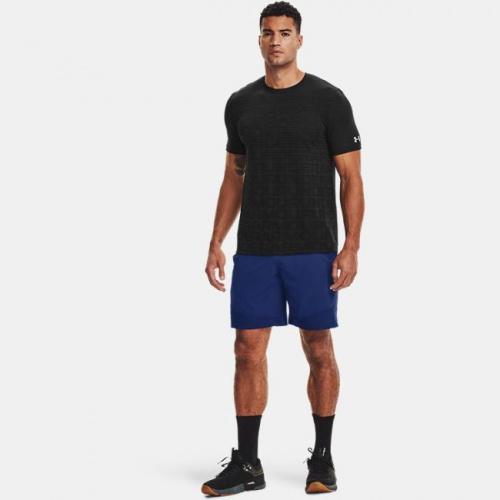 Îmbrăcăminte - Under Armour Seamless Wordmark Short Sleeve 1134 | Fitness