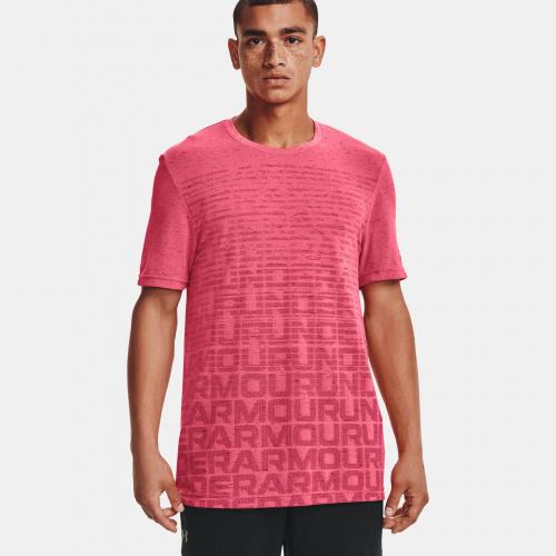 Îmbrăcăminte - Under Armour Seamless Wordmark Short Sleeve | Fitness