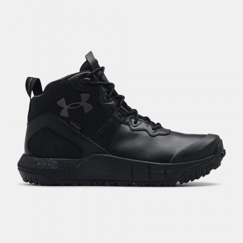 Încălțăminte - Under Armour UA Micro G Valsetz Mid Leather WP Tactical Boots | Fitness