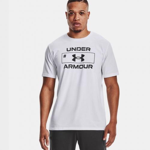 Îmbrăcăminte - Under Armour UA Number Script Short Sleeve | Fitness