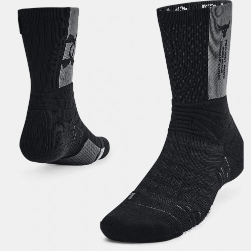 Accesorii - Under Armour UA Playmaker Project Rock Crew Socks | Fitness
