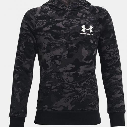 Îmbrăcăminte - Under Armour UA Rival Fleece ABC Camo Hoodie   Fitness