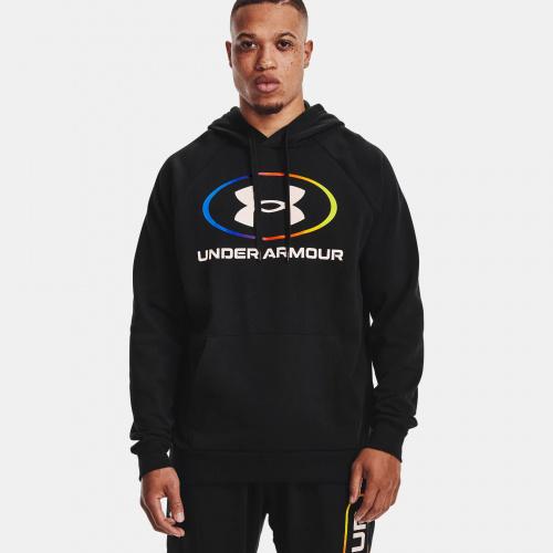 Îmbrăcăminte - Under Armour UA Rival Fleece Lockertag Hoodie 1557 | Fitness