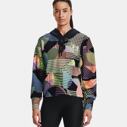 Îmbrăcăminte - Under Armour UA Rival Terry Geo Print Hoodie | Fitness