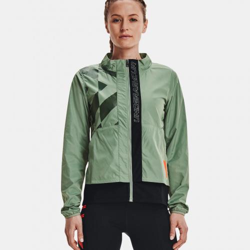 Îmbrăcăminte - Under Armour UA Run Anywhere Laser Jacket   Fitness