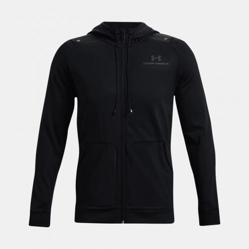 Îmbrăcăminte - Under Armour UA RUSH All Purpose Full-Zip Hoodie | Fitness