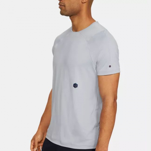 Îmbrăcăminte - Under Armour UA RUSH Short Sleeve 7641   Fitness